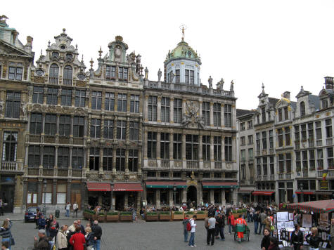 Guild Houses in Brussels Belgium